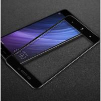 IMK celoplošné trvzené sklo na Xiaomi Redmi 4A - čierne