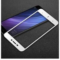 IMK celoplošné trvzené sklo na Xiaomi Redmi 4A - biele