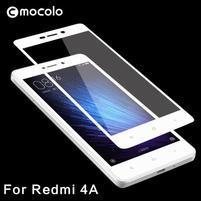 MLC celoplošné tvrdené sklo na Xiaomi Redmi 4A - biele