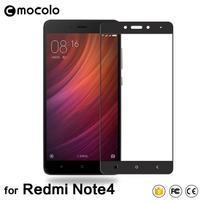 MLC celoplošné tvrdené sklo na Xiaomi Redmi Note 4 - čierny lem