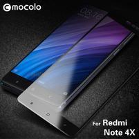 MLC celoplošné tvrdené sklo na Xiaomi Redmi Note 4X - čierne