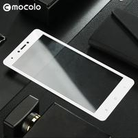 MLC celoplošné tvrdené sklo na Xiaomi Redmi Note 4X - biele