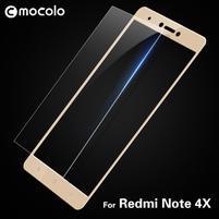 MLC celoplošné tvrdené sklo na Xiaomi Redmi Note 4X - zlaté