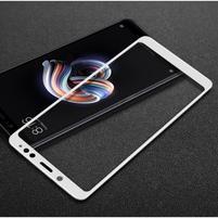 IMK celoplošné tvrdené sklo na Xiaomi Redmi Note 5 - biele