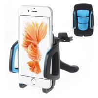Univerzálny autodržiak do vetráčku pre mobilné telefony - modrý