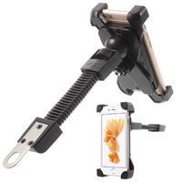Držiak pre mobil pre pevné uchycení s husím krkem