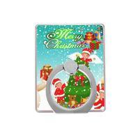 Vánoční držiačik na prst pre mobilné telefony - Santa II