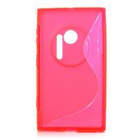 Gélové S-line puzdro pre Nokia Lumia 1020- růžové