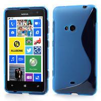 Gélové S-line puzdro pre Nokia Lumia 625- modré