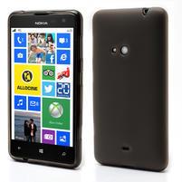 Gélové matné puzdro pre Nokia Lumia 625- sivé