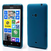 Gélové matné puzdro pre Nokia Lumia 625- svetlo modré