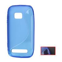 Gélové S-line puzdro pre Nokia Lumia 710- modré