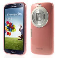 Gélové Ultraslim puzdro na Samsung Galaxy K Zoom- červené