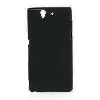 Gélové puzdro pre Sony Xperia Z L36i C6603- čierné