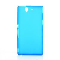 Gélové puzdro na Sony Xperia Z L36i C6603- modré