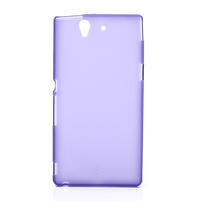 Gélové puzdro na Sony Xperia Z L36i C6603- fialové
