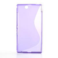 Gélové S-line puzdro pre Sony Xperia Z ultra- fialové