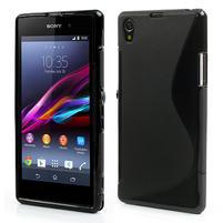 Gelové S-line pouzdro na Sony Xperia Z1 C6903 L39- černé