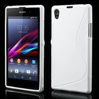 Gélové S-line puzdro pre Sony Xperia Z1 C6903 L39- biele