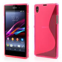 Gélové S-line puzdro pre Sony Xperia Z1 C6903 L39- ružové
