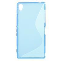 Gélové S-line puzdro pre Sony Xperia Z3 D6603- modré