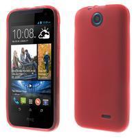 Gélové puzdro na HTC Desire 310- červené