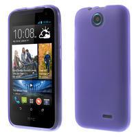 Gélové puzdro pre HTC Desire 310- fialové