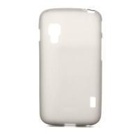 Matné gélové puzdro pre LG Optimus L5 Dual E455- sivé