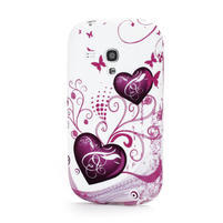 Gélové puzdro na Samsung Galaxy S3 mini i8190- dvě srdce