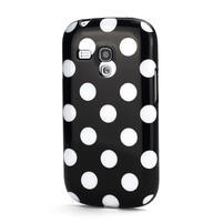 Gélové puzdro PUNTÍK pre Samsung Galaxy S3 mini i8190- čierné