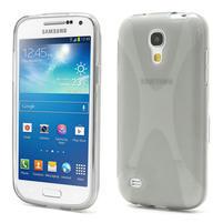 Gelové X pouzdro pro Samsung Galaxy S4 mini i9190- šedé