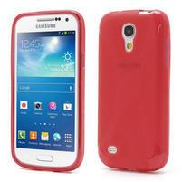Gelové X pouzdro pro Samsung Galaxy S4 mini i9190- červené