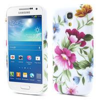 Gélové puzdro pro Samsung Galaxy S4 mini i9190- kvetinka