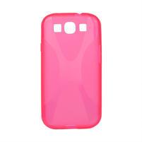 Gélové puzdro pro Samsung Galaxy S3 i9300 - X-line ružové
