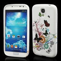 Gélové puzdro pro Samsung Galaxy S4 i9500- motýl color