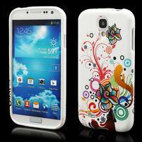Gélové puzdro pro Samsung Galaxy S4 i9500- farebná kvetina