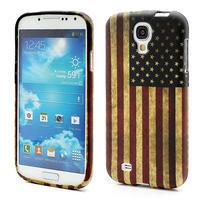 Gélové puzdro pro Samsung Galaxy S4 i9500- Americká vlajka