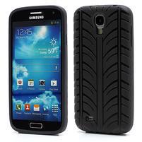 Gelové PNEU pouzdro pro Samsung Galaxy S4 i9500- černé