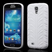 Gelové PNEU pouzdro pro Samsung Galaxy S4 i9500- bílé