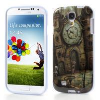 Gélové puzdro pre Samsung Galaxy S4 i9500- retro hodiny