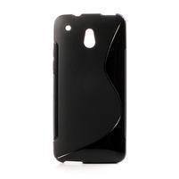 Gélové S-line puzdro pre HTC one Mini M4- čierné