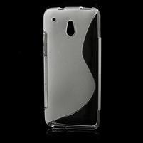 Gélové S-line puzdro pre HTC one Mini M4- transparentný