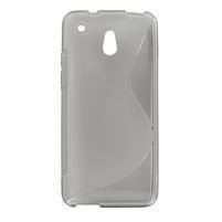 Gélové S-line puzdro pre HTC one Mini M4- šedé