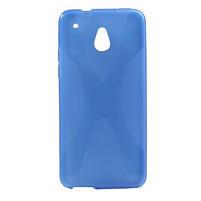 Gélové X-line puzdro pre HTC one Mini M4- modré