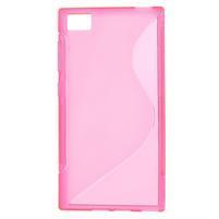 Gélové S-line puzdro pre Xiaomi Mi3- ružové