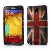 Gélové puzdro na Samsung Galaxy Note 3- UK vlajka