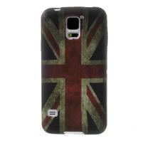 Gélové puzdro pre Samsung Galaxy S5- UK vlajka