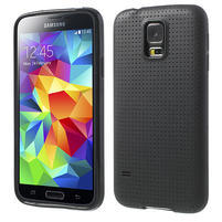 Gélové puzdro pre Samsung Galaxy S5- čierne
