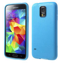Gélové puzdro pre Samsung Galaxy S5- modré