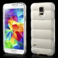 Gélové vesta puzdro pre Samsung Galaxy S5- biele